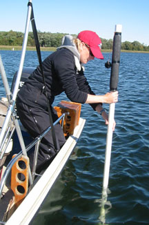 Moriya sampling Pelican Lake