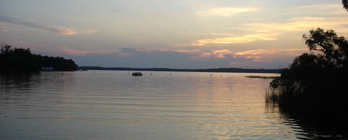 Sunset on Pelican Lake