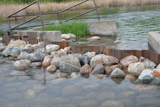 Fish Lake Dam, 2014